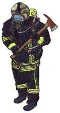 Ruecken- Aufnaeher große Applikation Patch 30 cm Feuerwehr Feuerwehrmann 07511