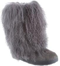 Bearpaw Women's Boetis II Mid-Calf Boot Gray Size 7 Nwt