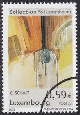 Specimen, Luxembourg Sc1087 Art Collection, Posts & Telecommunications, Painting