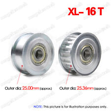 "XL16T Timing Belt Idler Pulley 3/4/5/6/7/8//9mm Bore 1/5"" Pitch for 3D Printer"