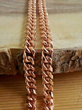 Pure Copper Neck Chain Necklace - Copper Healing Arthritis Pain Biker Necklace