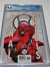 FINAL CRISIS RAGE OF THE RED LANTERNS #1 CGC 9.6 HTF 3rd Print Shane Davis Cover