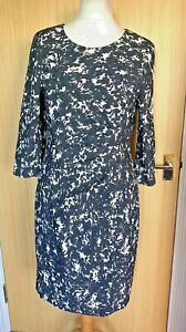 Phase Eight Ladies Dress 18 Smart Occasion Work Flattering Gathered Pencil
