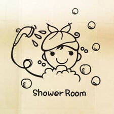 DIY Sticker Bathroom Toilet Wall Decal Removable Art Cartoon Decor Stickers N7