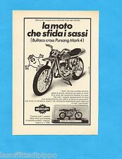 TOP971-PUBBLICITA'/ADVERTISING-1971- MERCURY - BULTACO CROSS PURSANG MARK 4