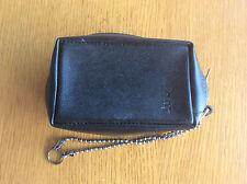 Black Kodak Compact Camera Case, Black Faux Leather & Chain 10cm x 5.5cm x 4cm