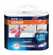 Osram 66240CBI-HCB Xenarc Blu Freddo Intenso D2S Lampadina Allo Xeno Duo-Box
