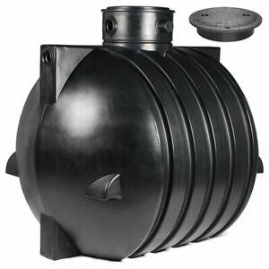 Regenwassertank, Zisterne Smart 6000 L mit PE-Abdeckung, kindersicher