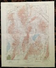 USGS Topographic Map 1932 Data SONOMA RANGE QUADRANGLE, NEVADA