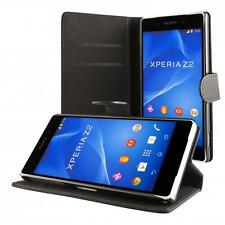 Sony Xperia Z2 SCHUTZ HÜLLE + PANZERGLAS HANDY TASCHE COVER CASE WALLET