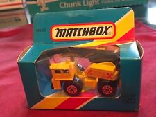 Matchbox MB42 Mobile Crane / International Box 1986
