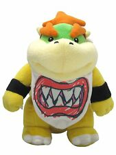 """Super Mario All Star Collection 8"""" Standing Bowser Jr.Soft Stuffed Plush Toy"""