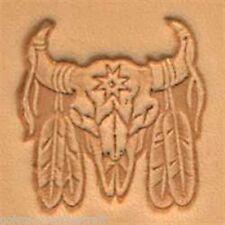 Craftool 3-D cuir Stamp Indian Skull (88436-00)