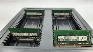 LOT 4 LENOVO-SAMSUNG 01FR311 4GB DDR4 PC4-2400T-S 19200 NONECC SODIMM MEMORY RAM