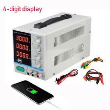 PS-3010DF DC power supply adjustable 4-digit display 30V 10A Repair USB charging