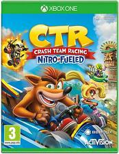 Crash Team Racing CTR Nitro-Fueled Microsoft Xbox One Game XB1 - NEW FREE UK P&P
