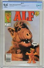 Alf  #1  CBCS  9.4  NM   White pgs 3/88  Newsstand Edition  Based on the NBC tel