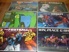 Lot 6 3M Sports Games Golf Hockey Baseball Football Racing Horseracing
