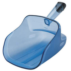RUBBERMAID COMMERCIAL PRODUCTS FG9F5000TBLUE Scoop, 74 Oz, 12x6 3/4 7 3/4