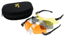 Browning Eagle Glasses Set Interchangeable 4 Lens Shooting Glasses