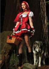 Little Red Riding Hood Fancy Dress Costume Halloween Costumes Party Cosplay SF