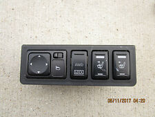 06 NISSAN MURANO SL 3.5L V6 4D MIRROR CONTROL SWITCH FRONT HEATED SEAT SWITCH
