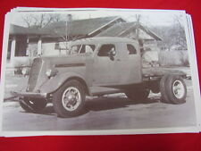 1938 STUDEBAKER SLEEPER CAB TRUCK  11 X 17  PHOTO   PICTURE