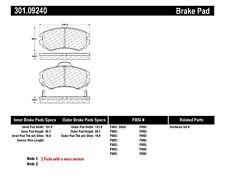 Premium Ceramic Brake Pad w/Shims fits 2002-2013 Kia Optima Sportage Soul  CENTR