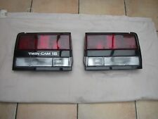 TOYOTA MR2 Mk1a AW11 CLEAR FRONT AND REAR INDICATOR/TURN LENSES + AMBER BULBS
