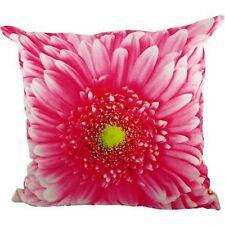 Dekokissen Blume Rose / rosa - Kissen Baumwolle 50x50 Cm