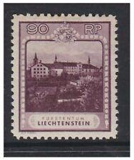 Liechtenstein - 1930, 90r púrpura-Perf 10 1/2 Sello-M/M-SG 106A