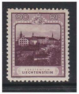 Liechtenstein - 1930, 90r Purple - Perf 10 1/2 stamp - m/m - SG 106A