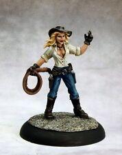 Wichita Witch Reaper Miniatures Savage Worlds Cowgirl Cowboy Whip Guns Ranged