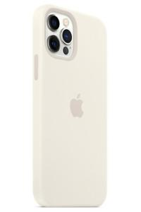 """Weiß iPhone 12 Mini 5,4"""" Apple Echt Original Silikon MagSafe Hülle Sleeve"""