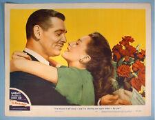 1947 The Hucksters 4 Original Lobby Cards Clark Gable Deborah Kerr Film Debut