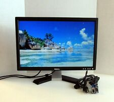 """DELL 20"""" 1680 x1050 Flat Pannel LCD Monitor E207WFP (B)"""