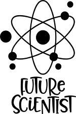 Future Scientist Vinyl Decal Sticker for Car/Window/Wall