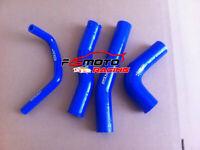 Blue For Toyota Hilux RN105 RN106 RN111 RN130 22R Silicone Radiator Hose Kit