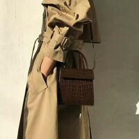 Women Tote Handbags Crocodile Pattern Leather Crossbody Bag Women Shoulder Bag#