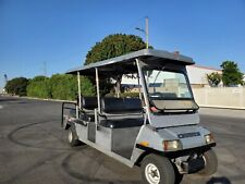 2005 Club Car Transporter 6 Passenger Seat Limo 48v 48 volt Golf Cart longcanopy