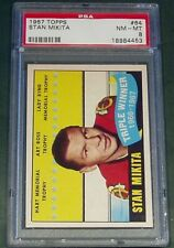1967 TOPPS #64 STAN MIKITA TRIPLE WINNER PSA 8 NM-MT