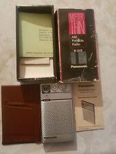 Vintage Panasonic RF-012 AM Transistor Radio MISTER THIN in Original box
