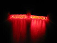 2 Universal RED LED Rear Marker Brake Tail Lights Motorcycle Street  Bike *-*