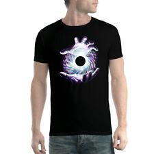 Black Hole Star Hands Mens T-shirt XS-5XL