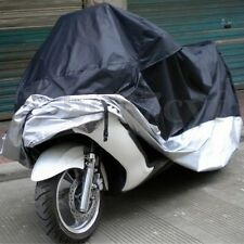 Motorcycle Dust Rain Cover Waterproof UV XL Outdoor Vented Motor Bike Scooter