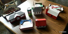 Bachmann Bros Build A House Play Set Church Kit School house & Barn GET ALL 4