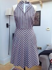 RACHEL RILEY LADIES 100% COTTON SUMMER DRESS SIZE UK8 EUR 38
