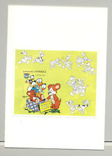 Dominica #874 Disney Christmas 1v S/S Imperf Proof in Folder
