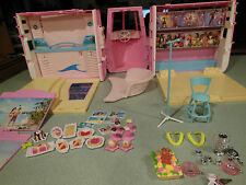 Vintage Barbie Pink Boat Cruise Ship Yacht Disco Photo Station some accesories