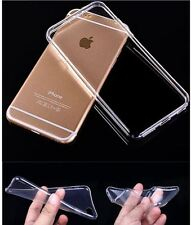 For Apple iPhone 7 plus Silicone Clear Cover Bumper Rubber Protective Shockproof